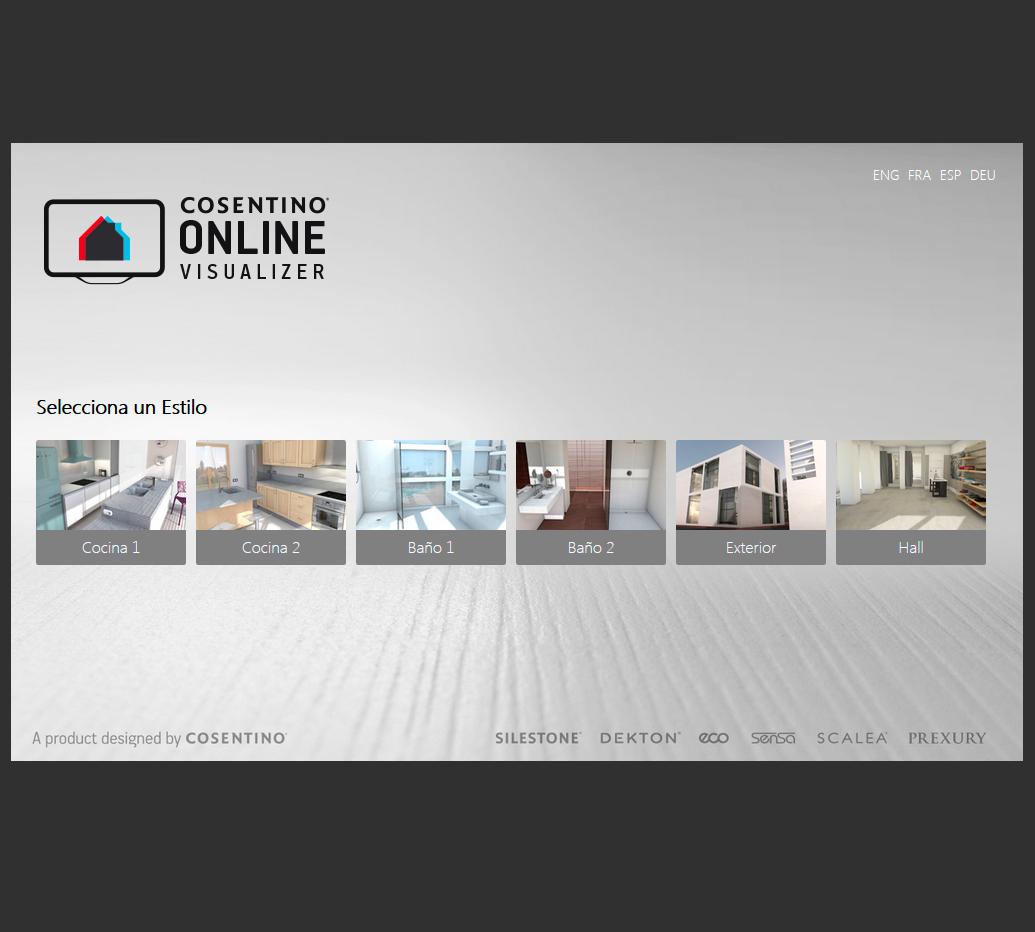 Dise adores virtuales encimeras silestone compac - Disenador de interiores online ...